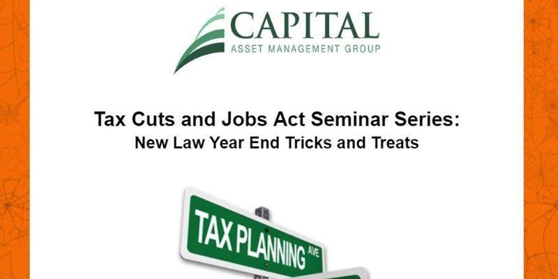 Tax Cuts and Jobs Act 3.0 - Year End Tricks and Treats Thumbnail