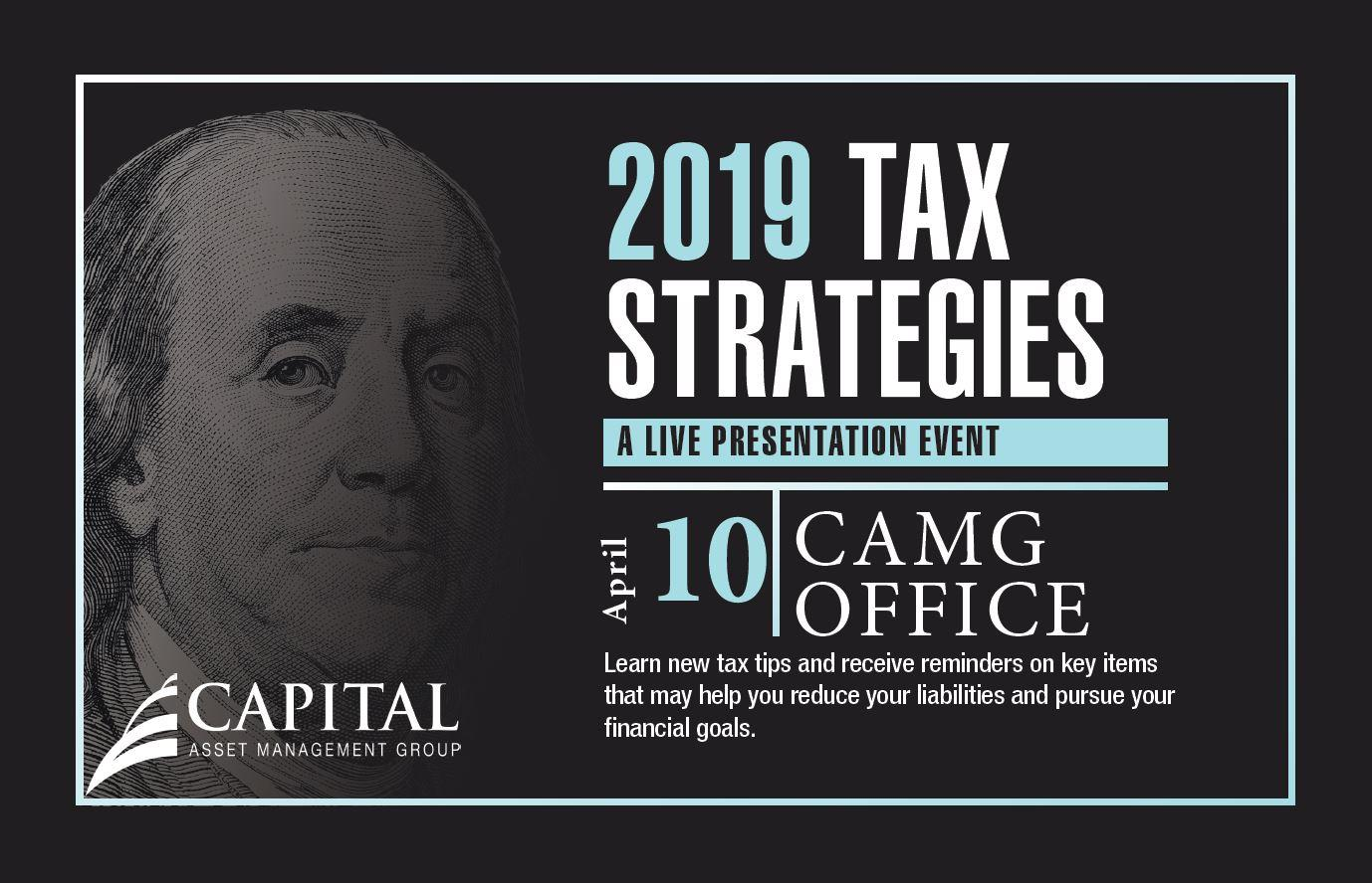 2019 Tax Strategies - Independence Accelerator Workshop Thumbnail