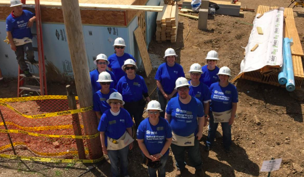 liberty financial group inc. volunteers with habitat for humanity