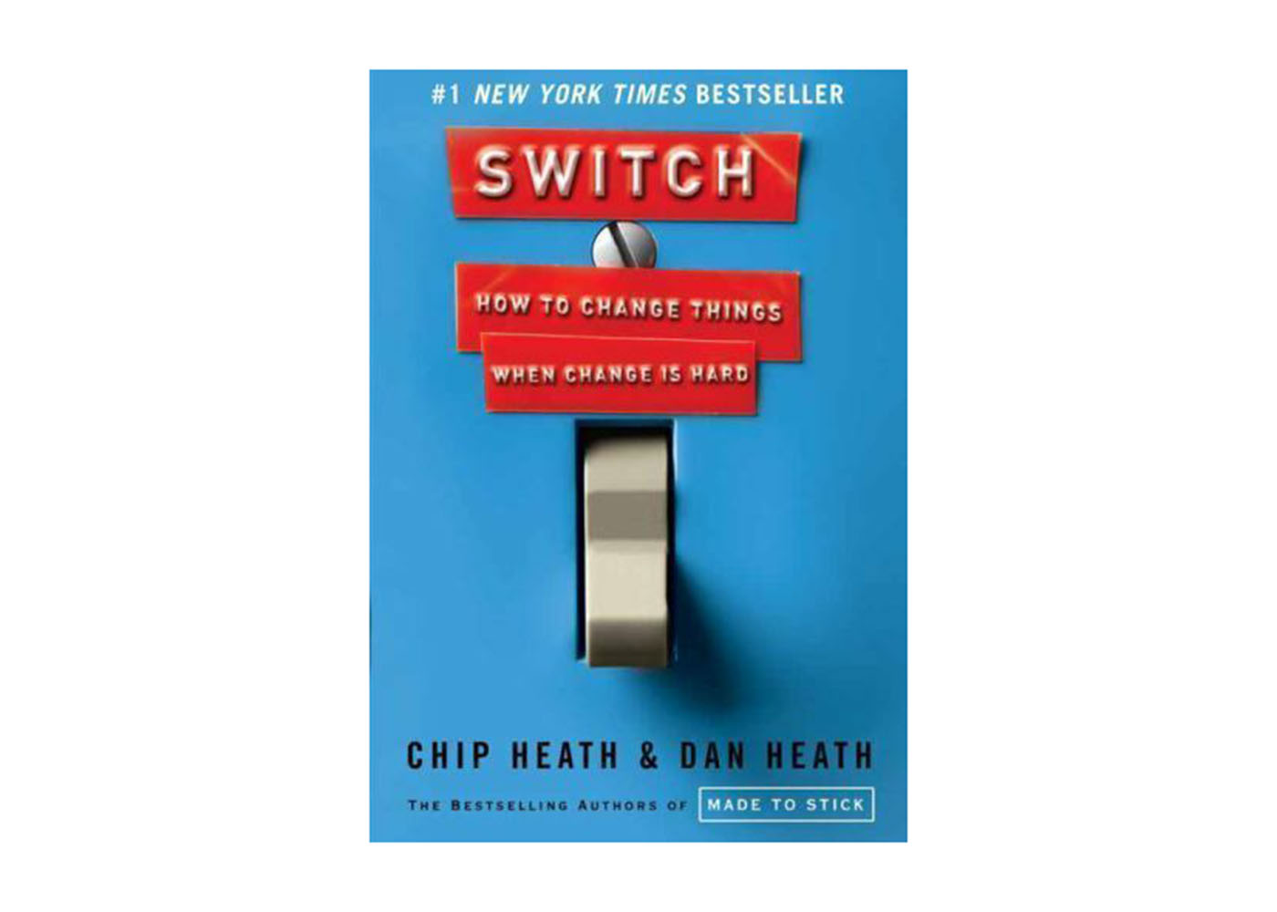 Switch-How to Change Things When Change is Hard