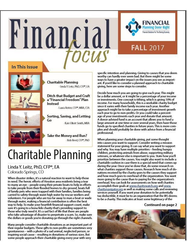 Financial Focus Fall 2017 Thumbnail