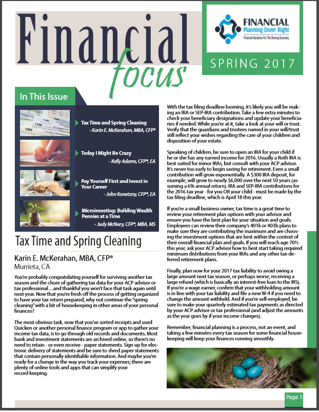 Financial Focus Spring 2017 Thumbnail