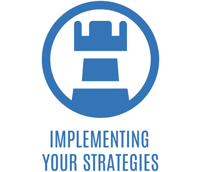 implementing your strategies