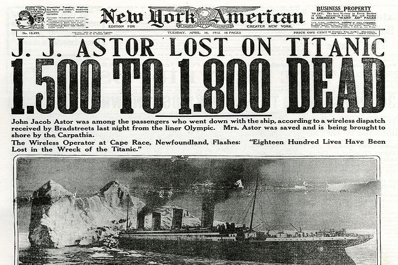 The Titanic - A Black Swan