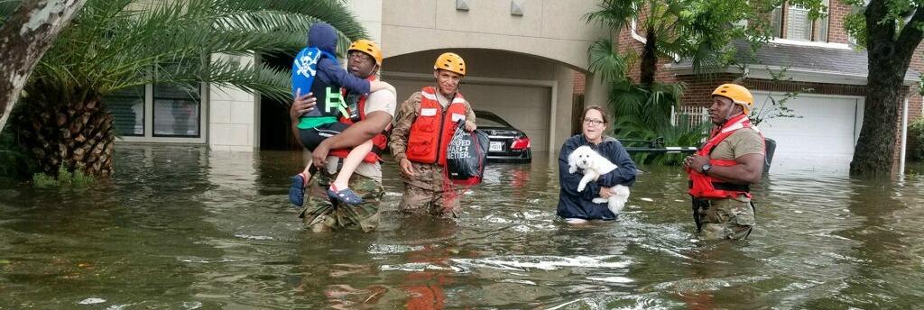 Hurricane Harvey Devastation