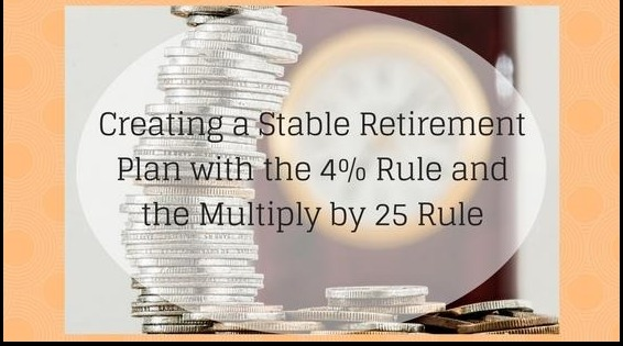 Creating a Stable Retirement Plan with the 4% Rule and the Multiply by 25 Rule Thumbnail