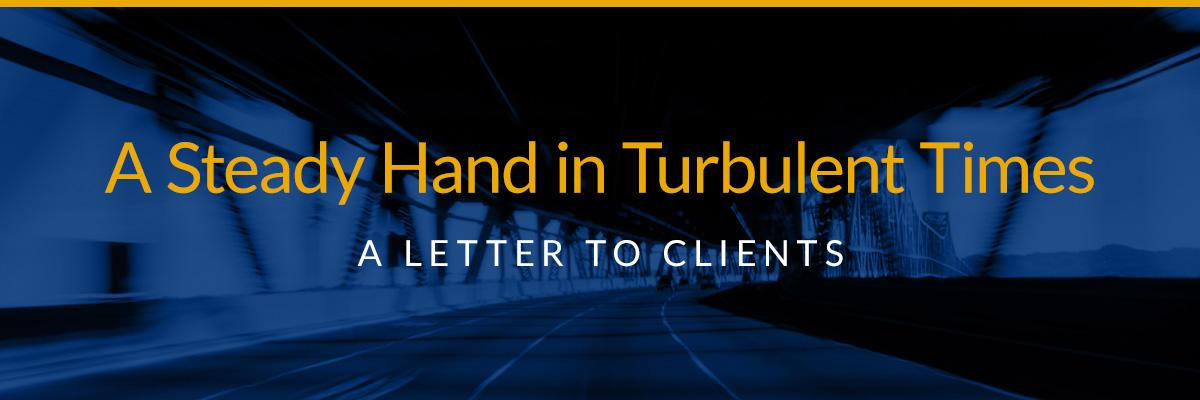 A Steady Hand in Turbulent Times Thumbnail