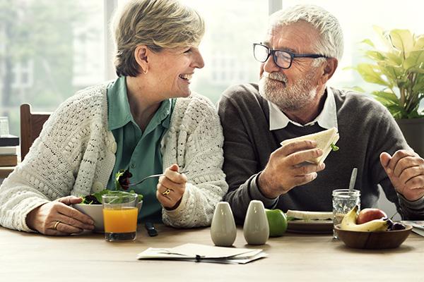 Retirement couple.