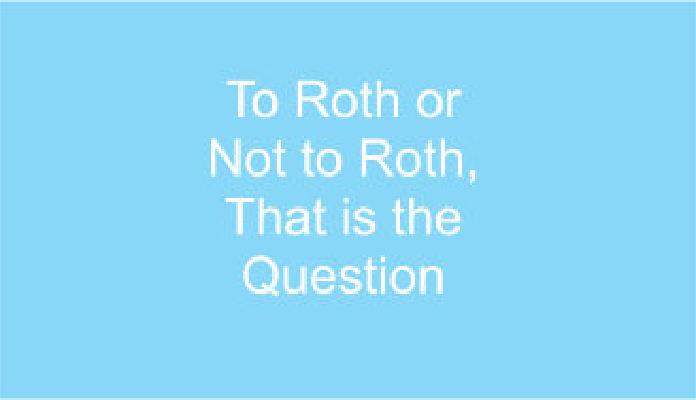 Roth 401(k)s – Not Your Father's 401(k) Thumbnail