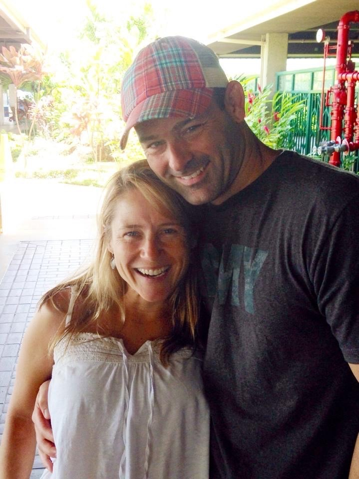 Gordon Nesbit and wife