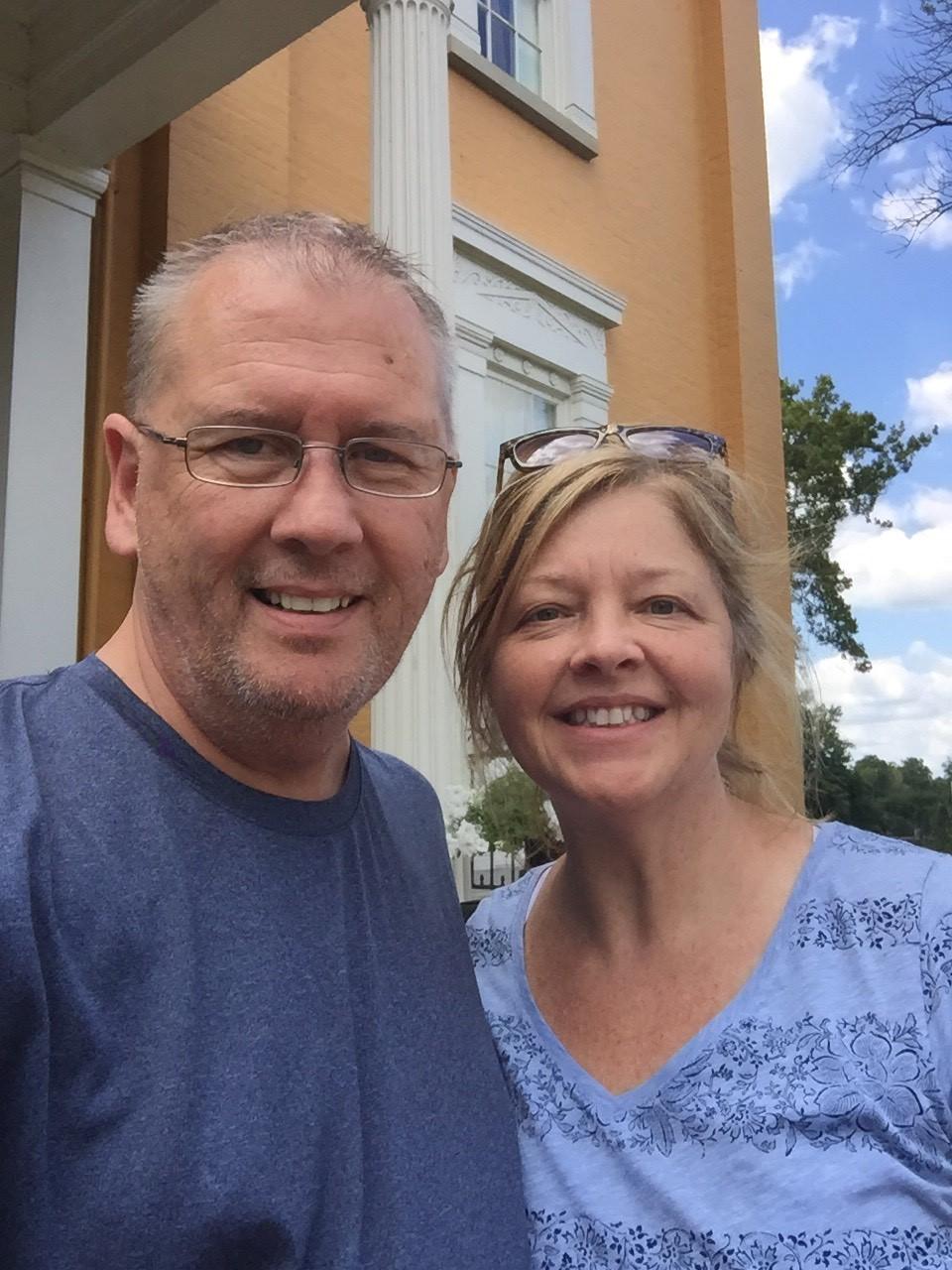 Dona Cornman and husband