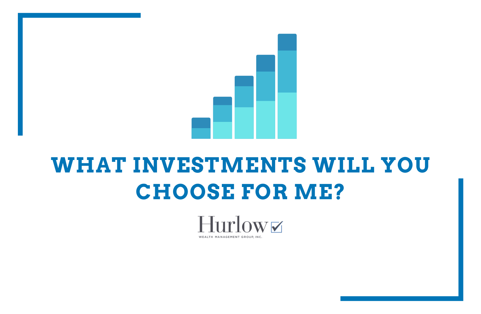We choose investments based on market research, personal tax situation and your risk profile Thumbnail