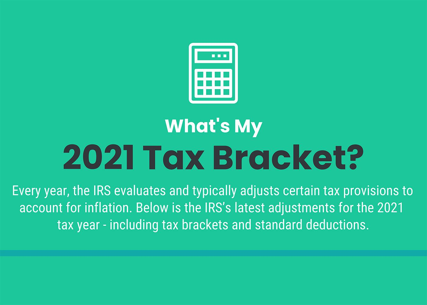 [Infographic] What's My 2021 Tax Bracket? Thumbnail
