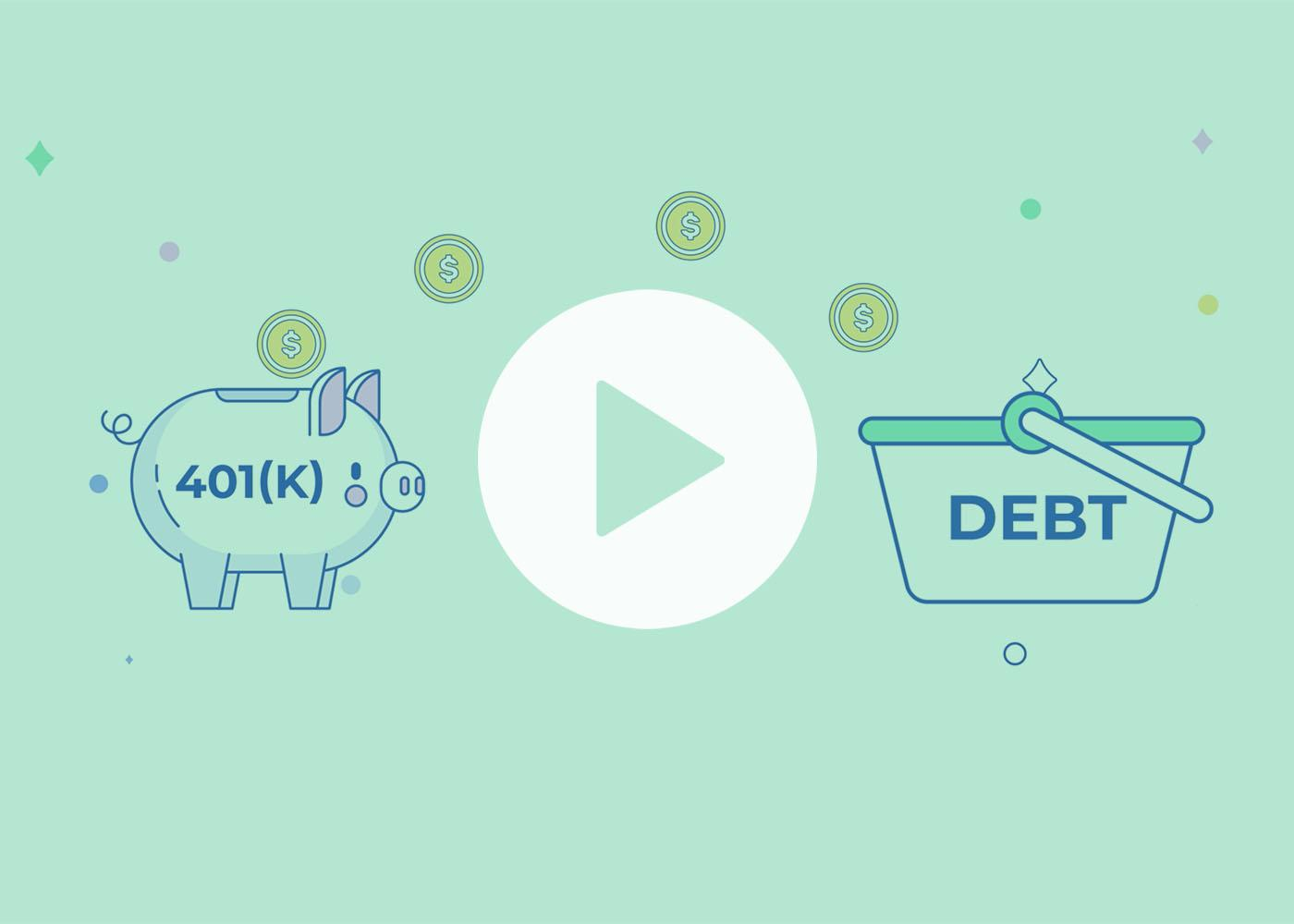 [Video] Should You Tap Your 401(k) to Pay Off Debt? Thumbnail