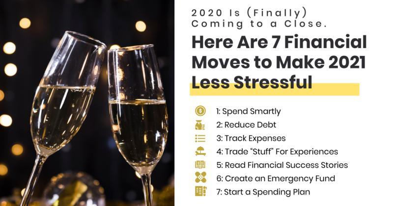 Good Riddance 2020. Start 2021 Off Right Financially With These 7 Small Changes Thumbnail
