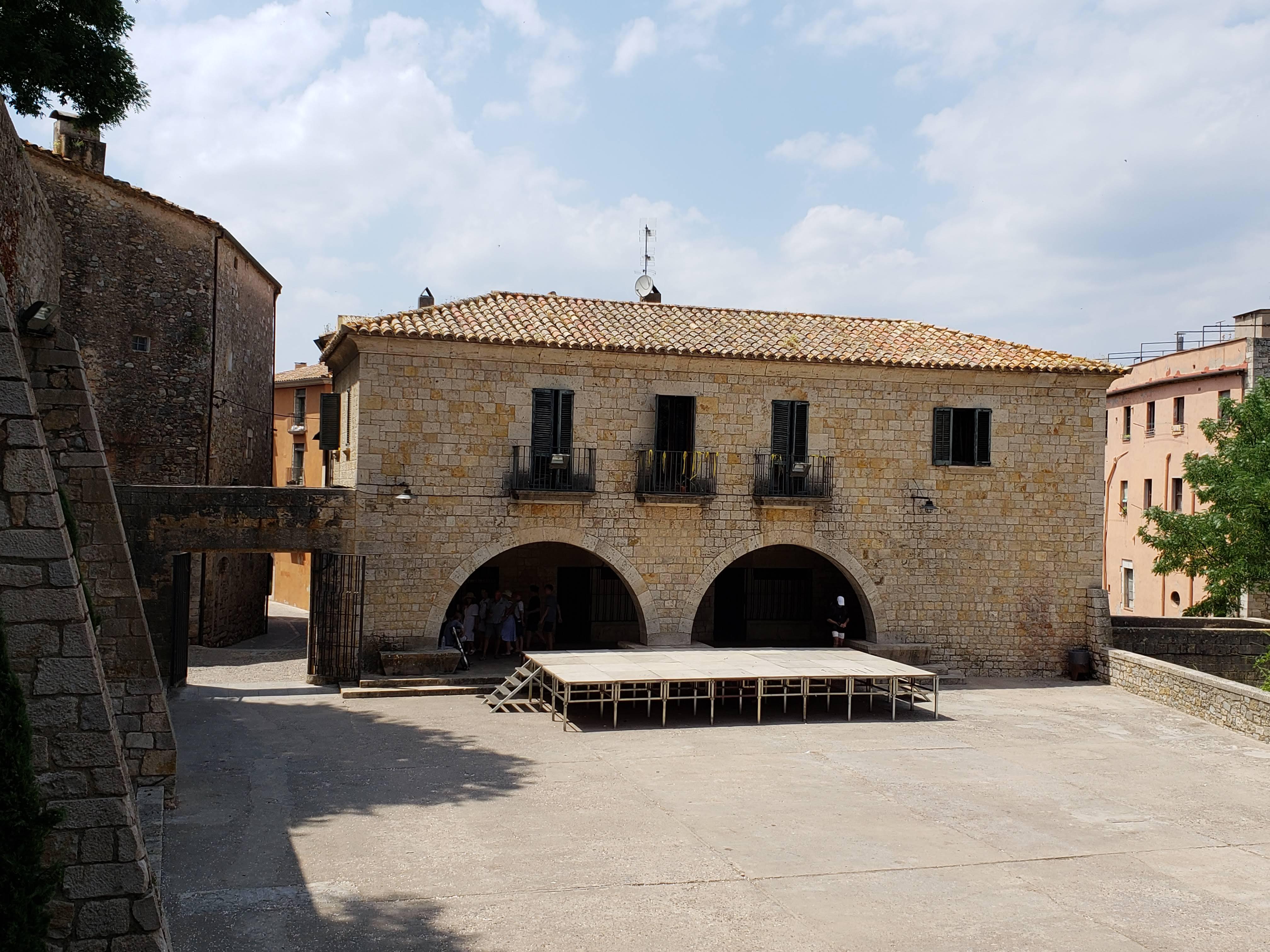 Placa dels Jurats, Girona, Spain
