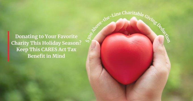 Charitable Donations and the CARES Act Tax Benefit for 2020 Thumbnail