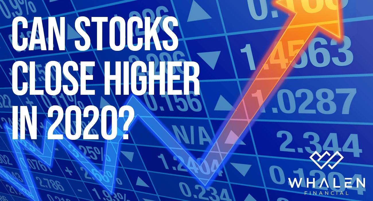 Can Stocks Close Higher In 2020? Thumbnail
