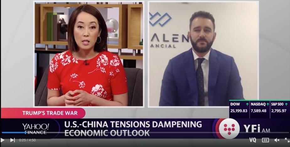 U.S. China tensions dampening economic outlook Thumbnail