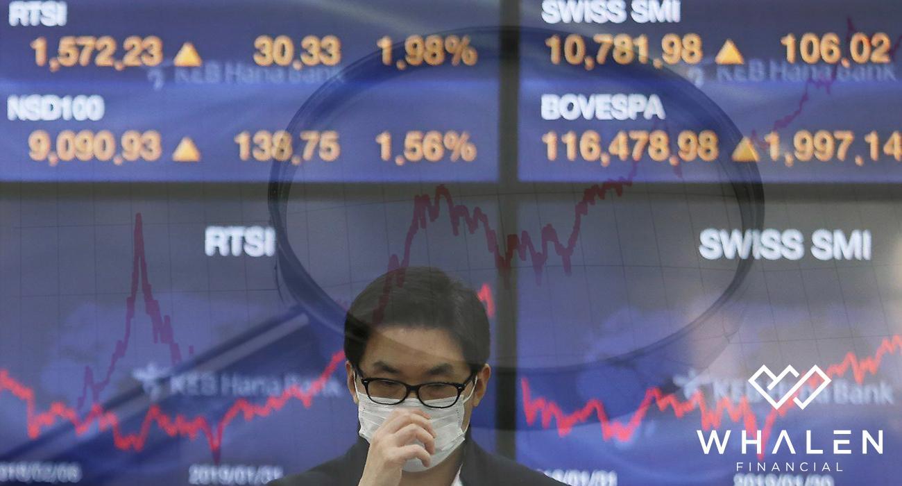 Stocks are lower amid virus headlines Thumbnail