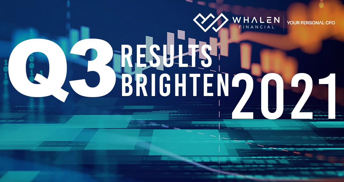 Q3 RESULTS BRIGHTEN 2021 PICTURE Thumbnail