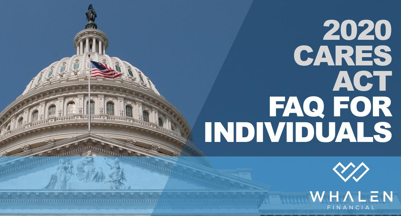 2020 CARES ACT FAQ for Individuals Thumbnail