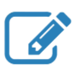 pencil and pad icon