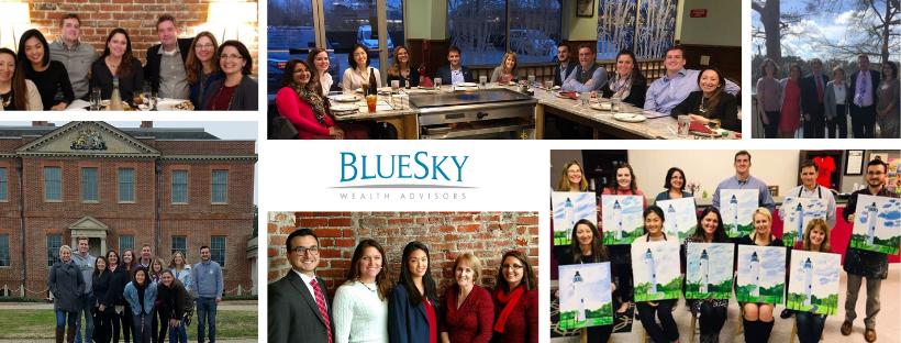 Bluesky team collage