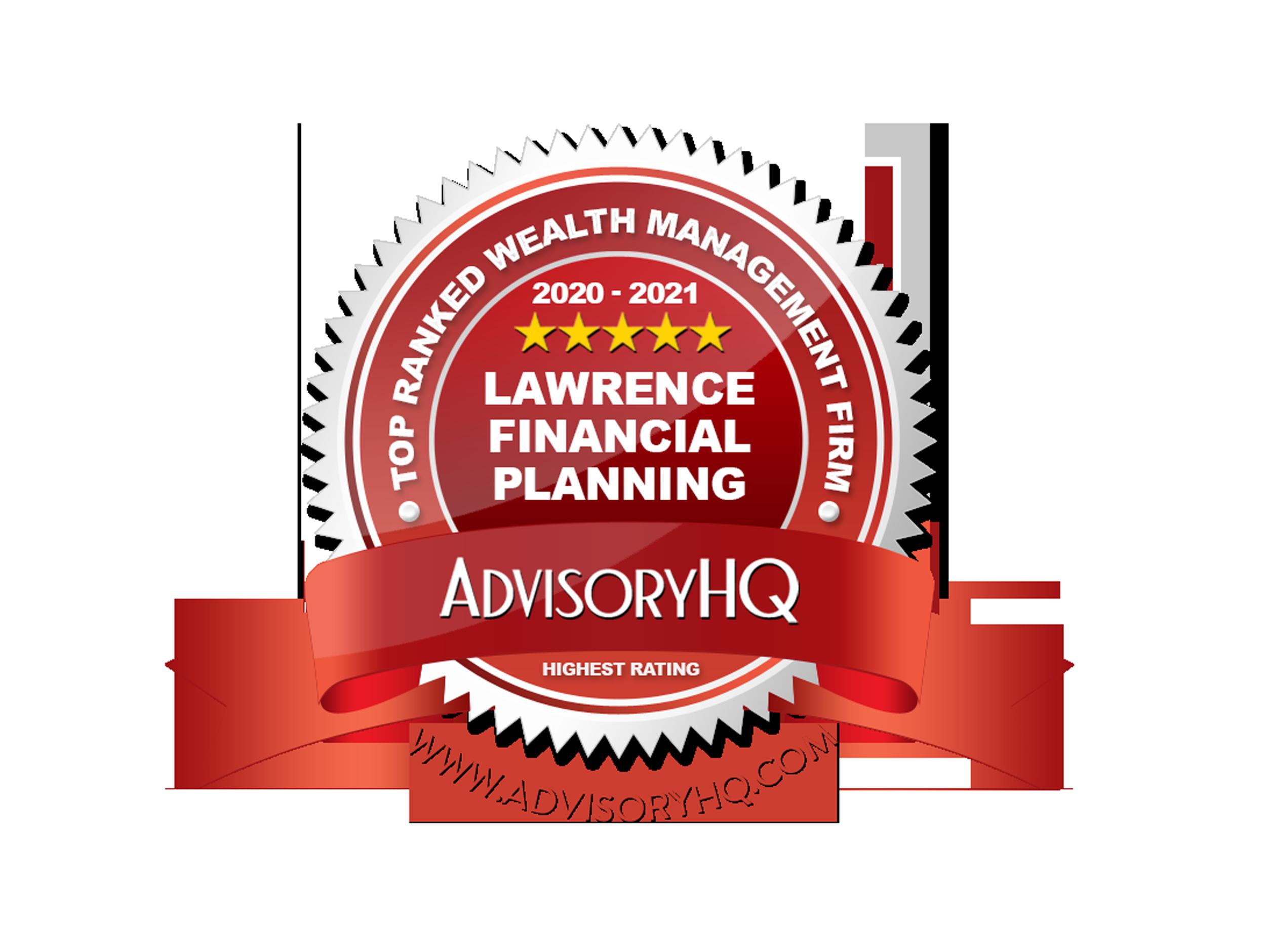 AdvisoryHQ Tampa, FL Lawrence Financial Planning