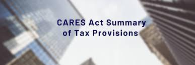 Tax Relief provided by the CARES Act Thumbnail