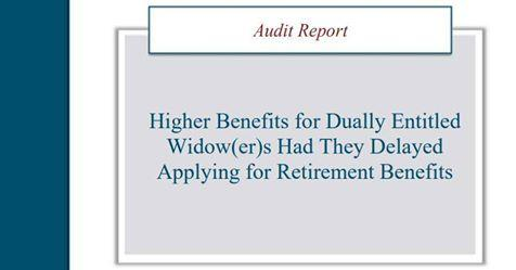 Widows Need to Understand Social Security Benefits Thumbnail