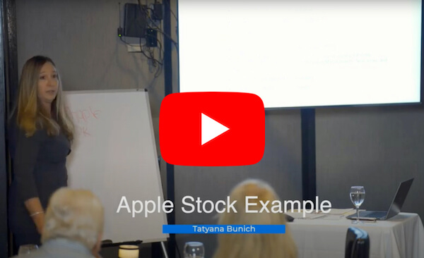 Apple Stock Example Video