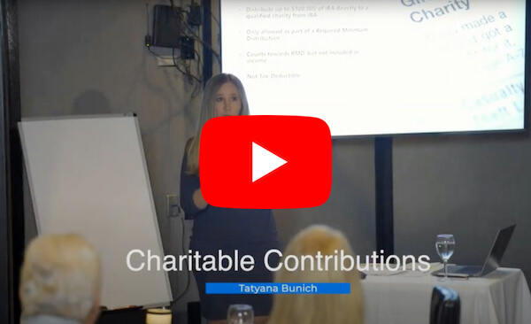 Charitable Contributions Video