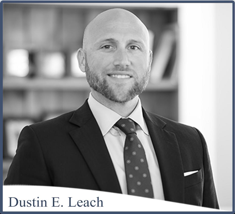 Dustin E. Leach, AIF® Photo