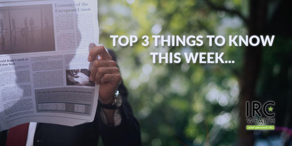 Top 3 things to know this week: Volatility, Financial Adviser's, & Interest Rates Thumbnail