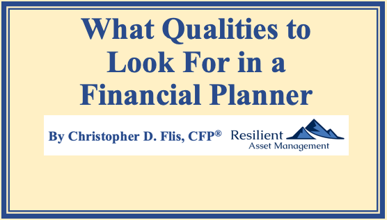 What Qualities to Look For in a Financial Planner Thumbnail