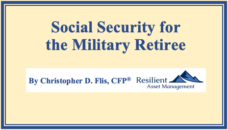 Social Security for the Military Retiree Thumbnail