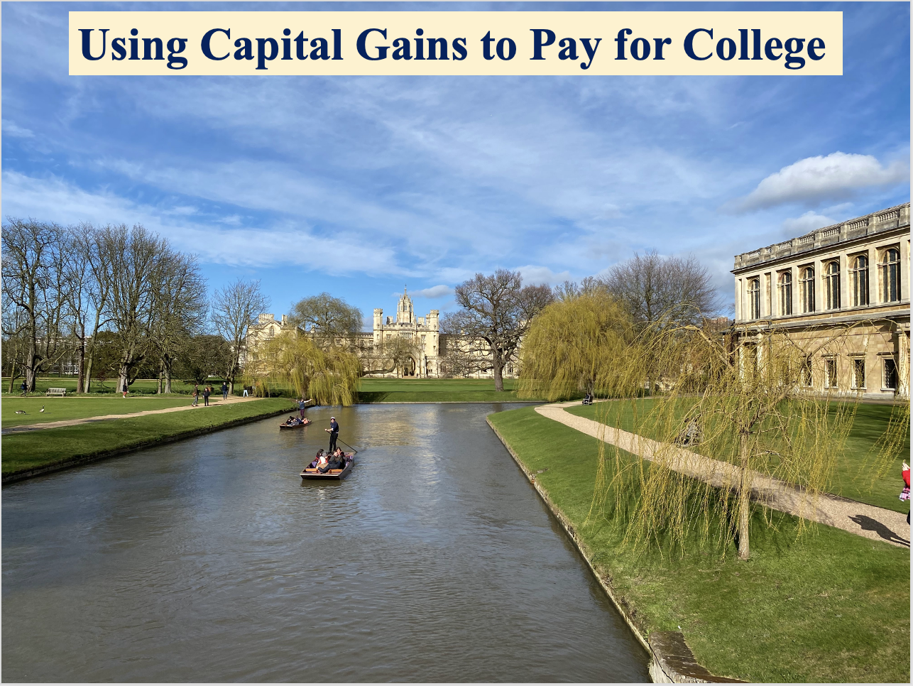 Using Capital Gains to Pay for College Thumbnail
