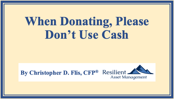When Donating, Please Don't Use Cash Thumbnail