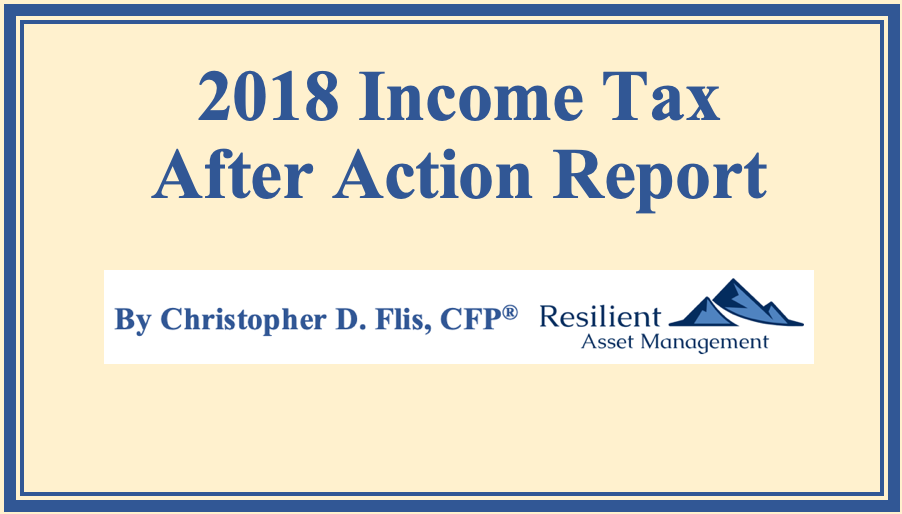 2018 Income Tax After Action Report Thumbnail