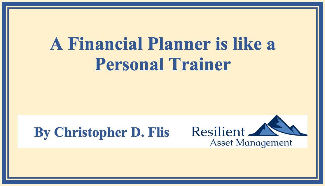 A Financial Planner is like a Personal Trainer Thumbnail
