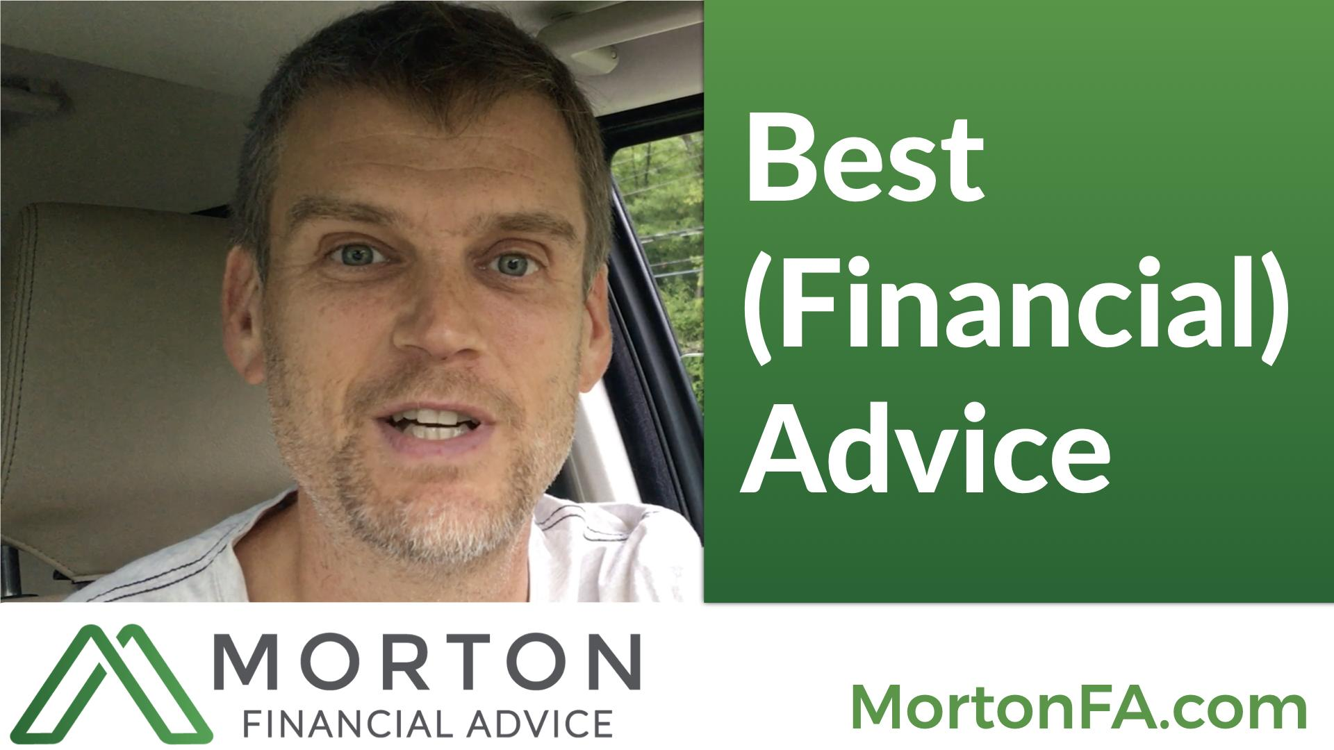 My Best (Financial) Advice Thumbnail