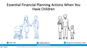Essential Financial Planning Actions  When You Have Children Photo