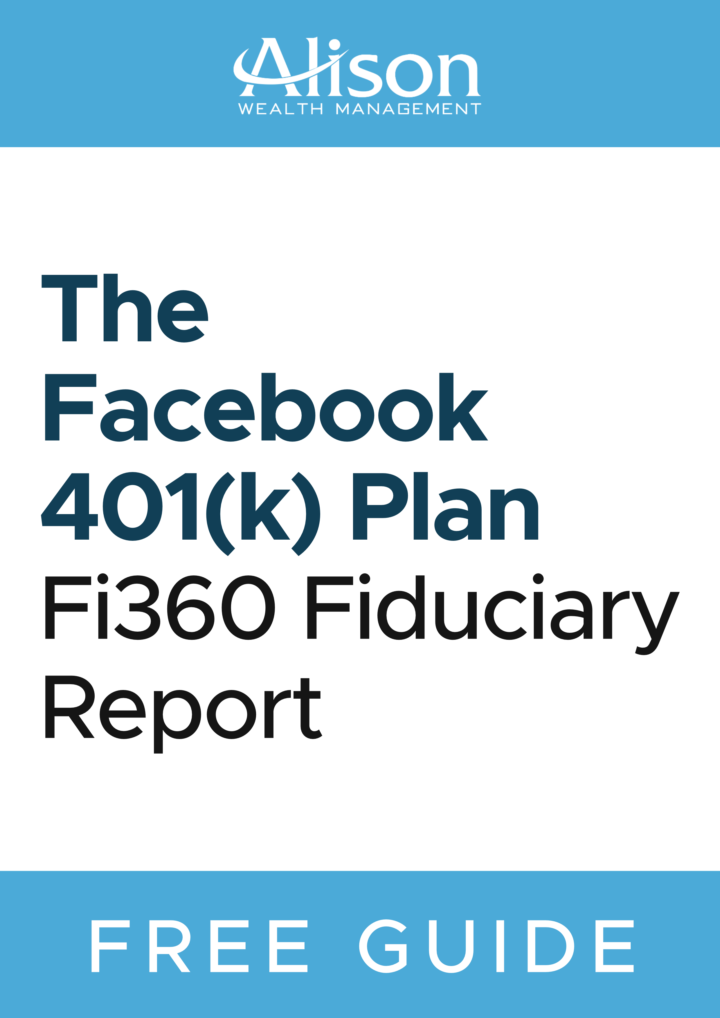 For A Detailed Analysis On All Facebook 401k Plan Investments Download