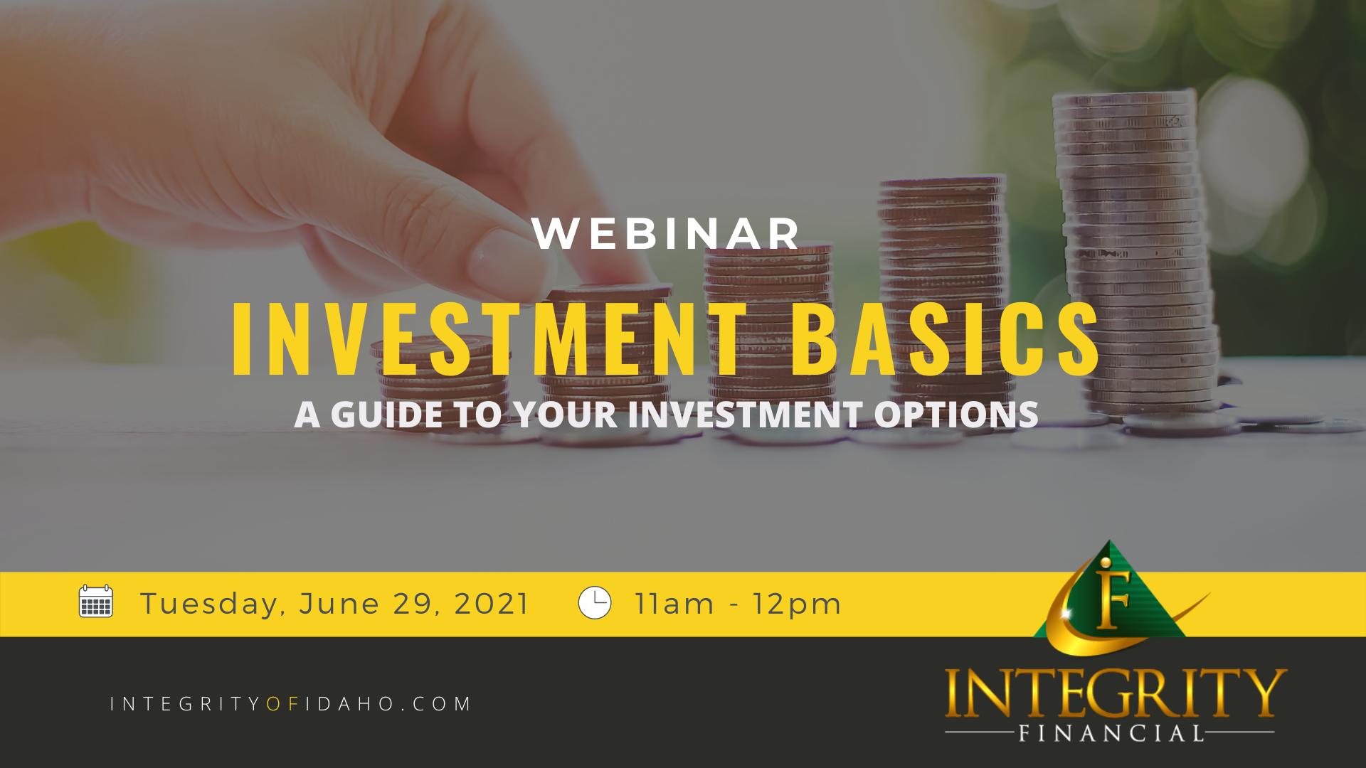 Investment Basics Thumbnail