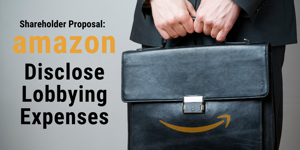 Shareholder Proposal to Amazon: Disclose Lobbying Expenses Thumbnail