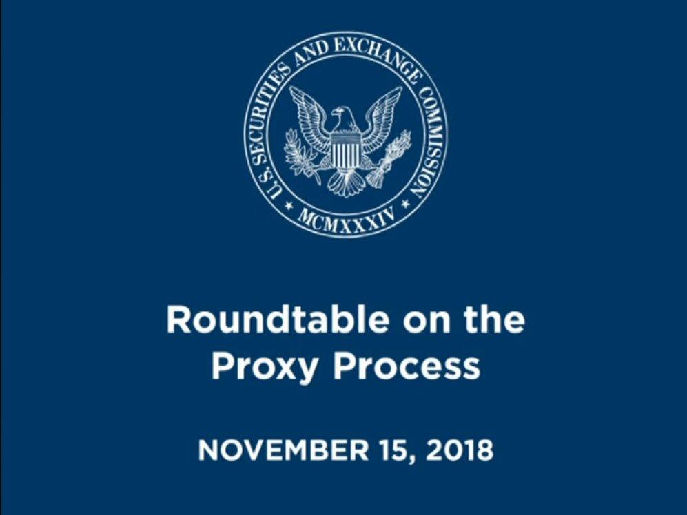 Investor Voice to SEC: Don't Touch the Proxy Process Thumbnail