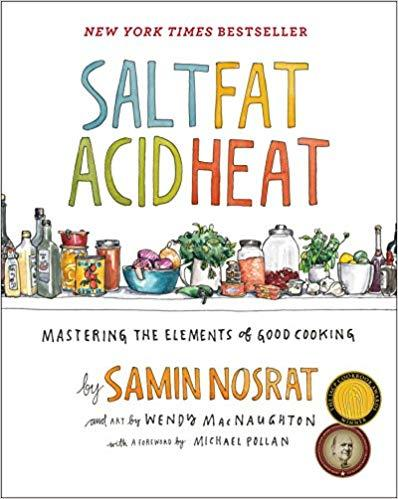 Salt, Fat, Acid, Heat: Mastering the Elements of Good Cooking - Recommended Book Thumbnail