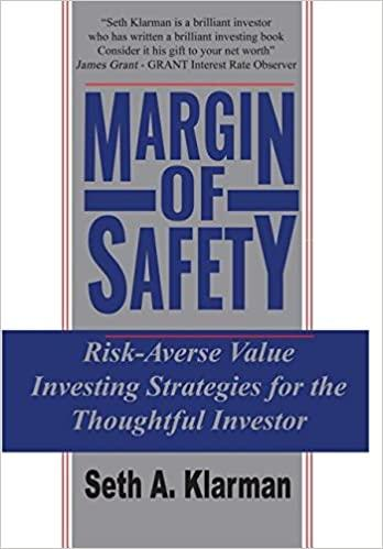 Margin of Safety - Recommended Book Thumbnail