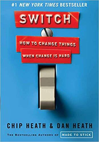 Switch: How to Change Things When Change Is Hard - Recommended Book Thumbnail